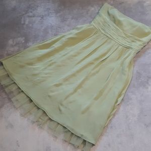 NWT Ann Taylor women's size 10 strapless dress